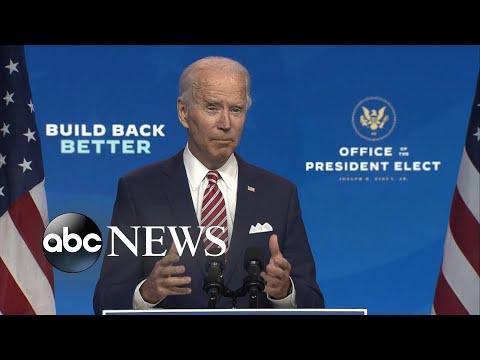President-elect Joe Biden speaks on COVID-19, the economy | WNT