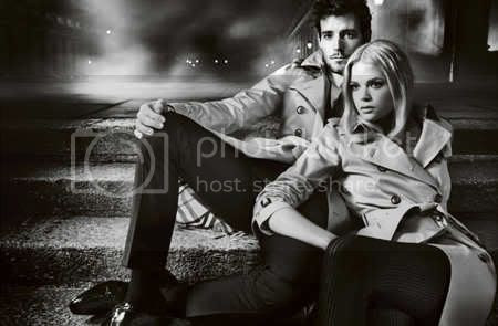 Burberry Autumn/Winter 2012 Ad Campaign Features Roo Panes and Gabriella Wilde