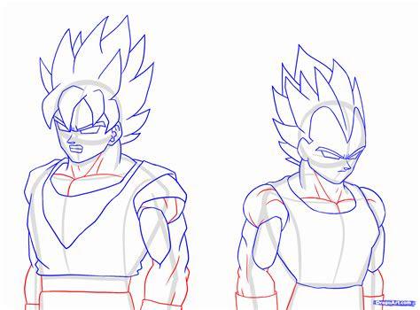 draw  super saiyan super saiyan step  step