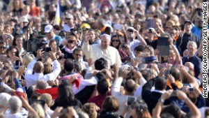 With his penchant for crowd-pleasing and spontaneous acts of compassion, Pope Francis has earned high praise from fellow Catholics and others since he replaced Pope Benedict XVI in March 2013. Click through to see moments from his papacy.