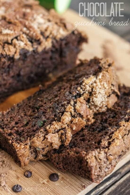 Chocolate Zucchini Bread | The Recipe Critic