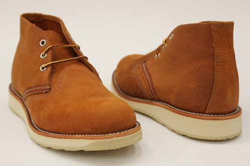 Red Wing Mens Leather Chukka Lace Ankle Boots 10