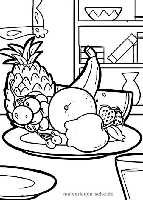 Malvorlagen Obst De