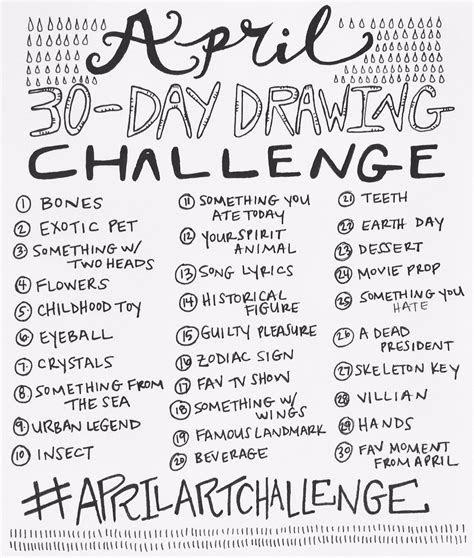 april  day drawing challenge  bun