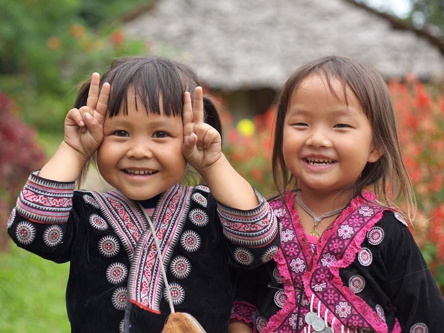 Hill Tribe Girls