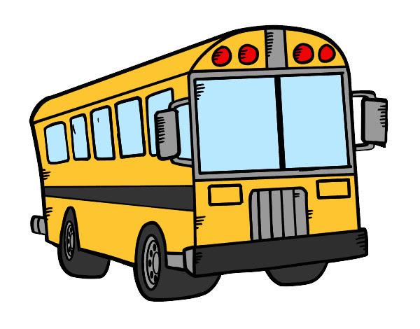 Dibujo De Autobús Del Colegio Pintado Por Annycristi En Dibujosnet