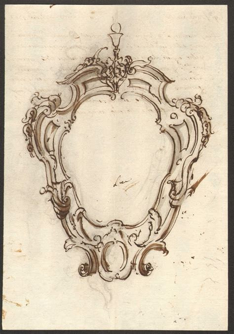 frame drawing anonimo    century