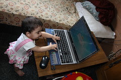 Nerjis Asif Shakir Joined Google+ The Same Day She Was Born by firoze shakir photographerno1