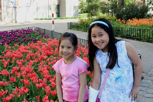 tulpen und girls