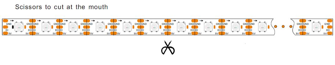 Led Strip Schematic Diagram