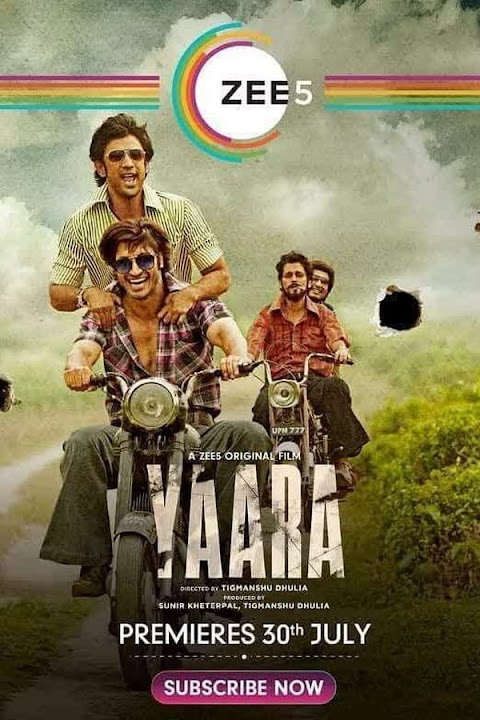 Yaara (2020) Hindi 480p 720p 1080p Web-DL | Zee5 Movie