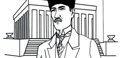 En Iyisi Okul Oncesi Ataturk Resmi Boyama En Iyi Boyama Cocuk
