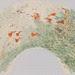 吳士偉‧弄萍‧水墨紙本設色‧14x44.5 cm‧2012