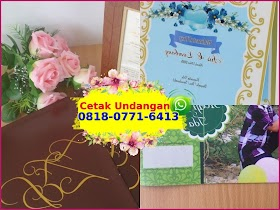 Contoh Undangan Pernikahan Mini