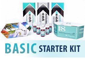 Kevis Basic Starter Kit: 1 Kevis 8 Hair \u0026 Scalp Lotion trays 12 capsules, 1 Conditioner, 1