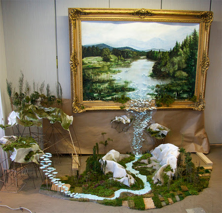 3D Paintings On Paper