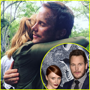 Bryce Dallas Howard & Chris Pratt Wrap Filming 'Jurassic World 2' - See the Pic!