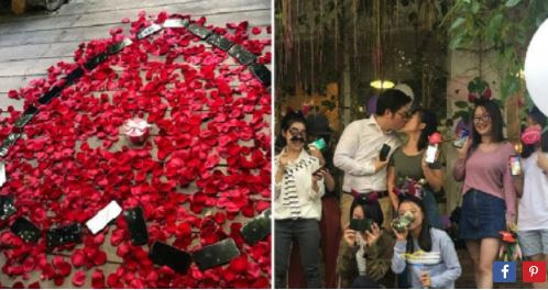 Man Proposes to Girlfriend With 25 Brand New iPhone Xs (Photos)