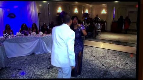 Best Mother & Son Wedding Dance Mom kills the Watch Me