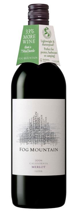 Wine in Plastic Bottles? 2006 Fog Mountain Merlot Reviewed