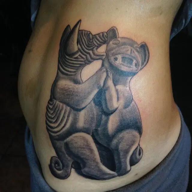 Arte Prehispánico En La Piel Los Bellos Tatuajes De Sol Chicoacen