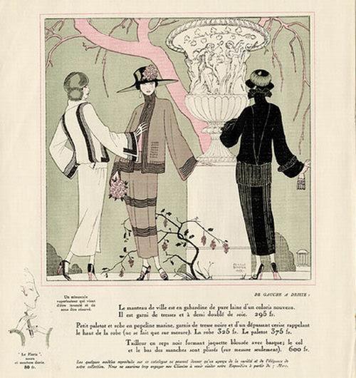 George Barbier, Les Modes Elegantes, 1922