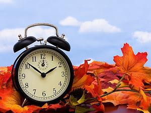 Daylight savings time starts today