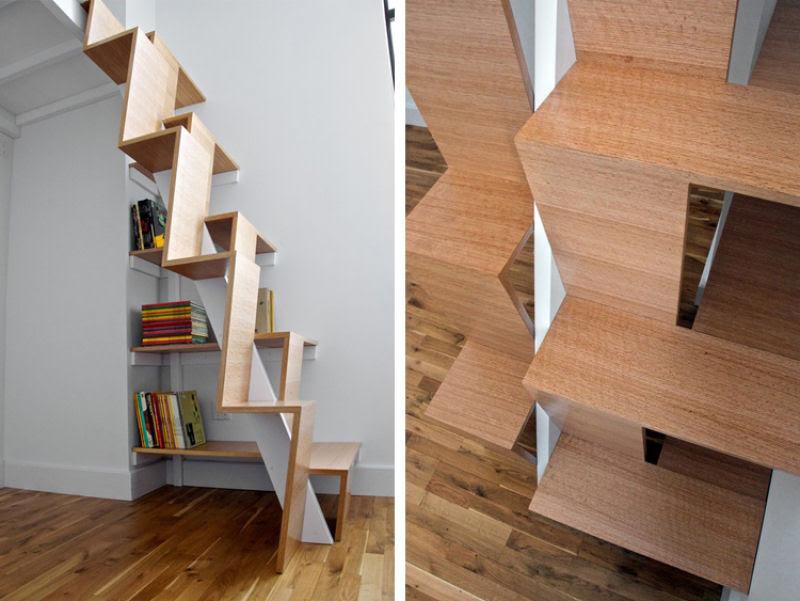 Escadas incrivelmente projetadas que estão um degrau acima das demais 32