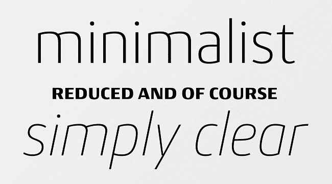 conto 23 of the most beautiful typefaces from September 2014