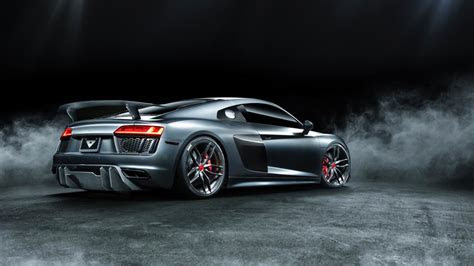 Audi R8 body kit by Vorsteiner keeps your supercar looking special
