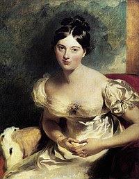 Portrait of Marguerite, Countess of Blessington, 1819.