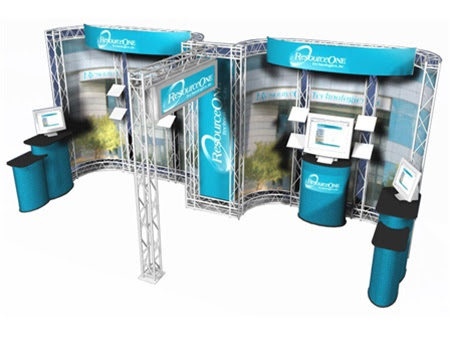 Trade Show Display Ideas For Trade Show Booth Monsterdisplayscom