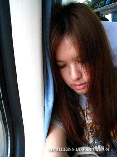sleeping on hard seater