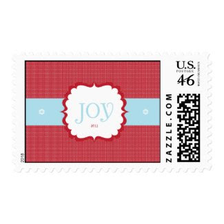 Joy Christmas Postage stamp