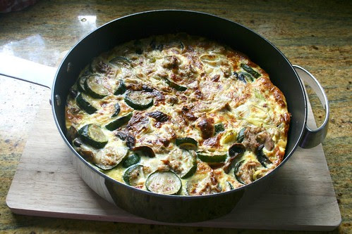Tuna and cougertes fritata 2