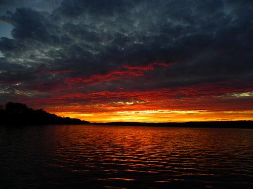 Saganashkee Slough sunset, Palos Hills IL