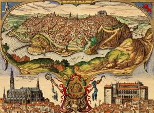 Vista de Toledo - Joris Hoefnagel (1566)