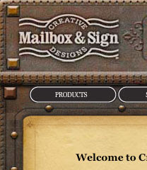 All About Creative Mailbox Amp Sign Designs Custom Mailboxes