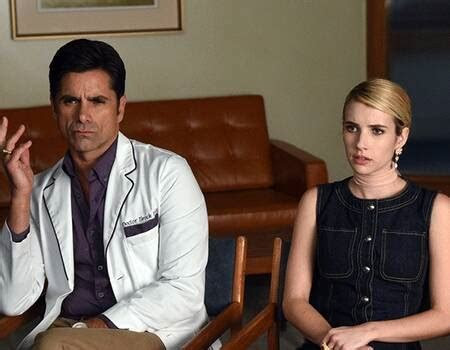 Scream Queens' John Stamos and Jamie Lee Curtis Make Out