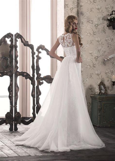 Wonderful White/Ivory Lace Wedding Dress With Train