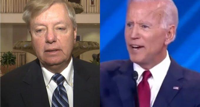 Joe Biden Threatens Lindsey Graham for Daring to Investigate Him