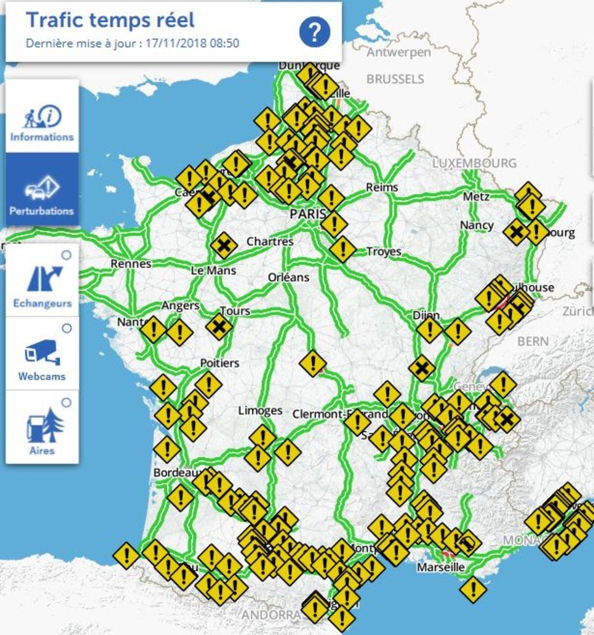 Gilets Jaunes 282 000 Manifestants Dans Toute La France