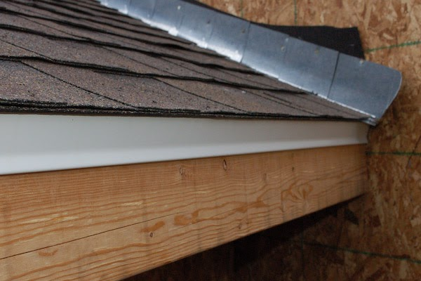 Ante Shingle Shed Roof Drip Edge