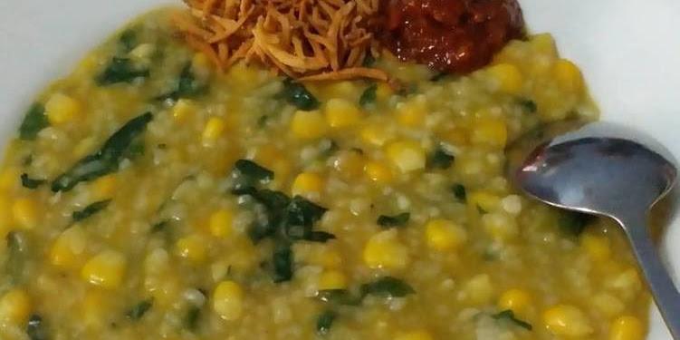 Resep Bubur Manado / Tinutuan Rice Cooker No MSG Oleh IRNA CAHYANI