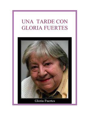 Una tarde con Gloria Fuertes.
