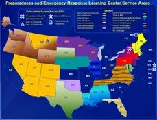 Map of PERLCs