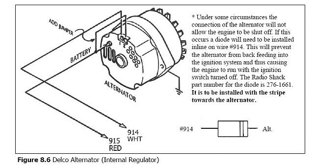 1994 Chevy Alternator Wiring