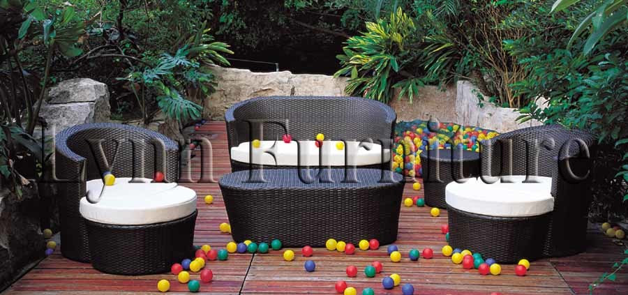 China Lounge Garden Furniture Set (LN-019) - large image for ...