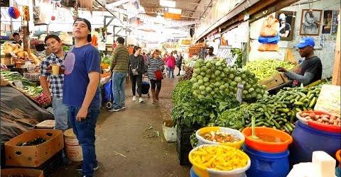 Đi chợ ở Santiago nước Chile thật thích! Chile Wet Market Local Market