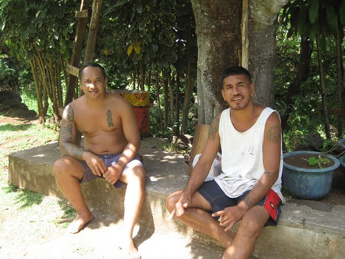 Edwin and Teii, Vaitahu